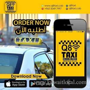 Q8 Taxi in kuwait