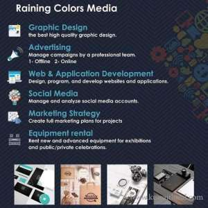 Raining Colors Media in kuwait