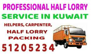 half-lorry-transport-service in kuwait