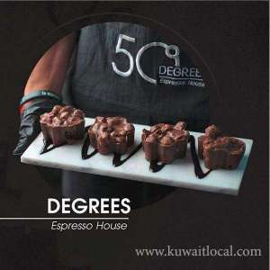 50 Degrees Cafe in kuwait