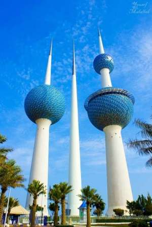 kuwait-towers in kuwait