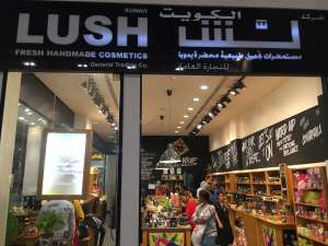 lush-beauty-care-al-rai in kuwait