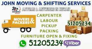 PACKERS AND MOVERS IN KUWAIT 51205234 in kuwait
