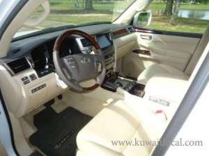 lexus-lx-570-white-2015 in kuwait