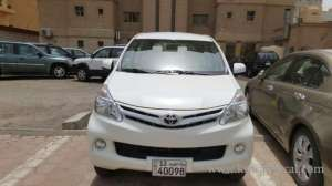toyota-avanza-2015-model-car-for-sale in kuwait