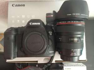 canon-eos-5d-mark-iii-22-3mp-dslr-camera-24105-mm-lens-kit in kuwait