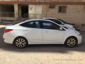 Hyundai Accent For Immediate Sale 2014 Full Option in kuwait