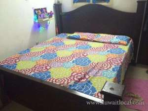 King size cot and bed for sale in kuwait