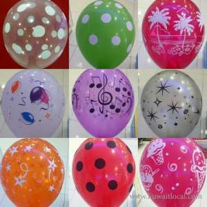 Balloon Printing in kuwait