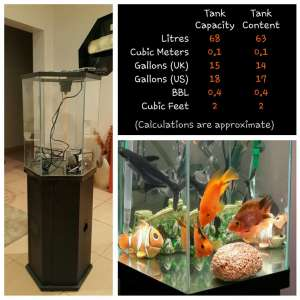Tropical Fish Tank for Sale in kuwait