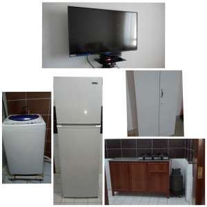 2 BHK flat for rent with household items from Dec End in salmiya in kuwait