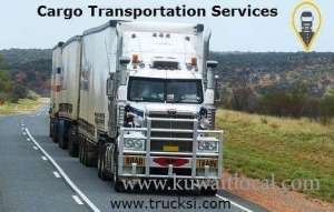 Cargo Transportation Services In Trucksi in kuwait