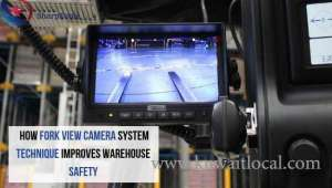 How Techniques Of Fork View Camera System Improve Warehouse Safety in kuwait