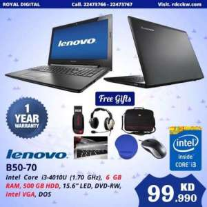Sealed Pack Lenovo Core I3 Laptop @ Throw Away Price.. in kuwait