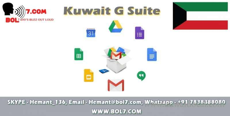 Kuwait G-Suite Service | Kuwait Local
