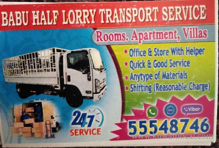 Packing-and-moving-half-lorry-service-kuwait