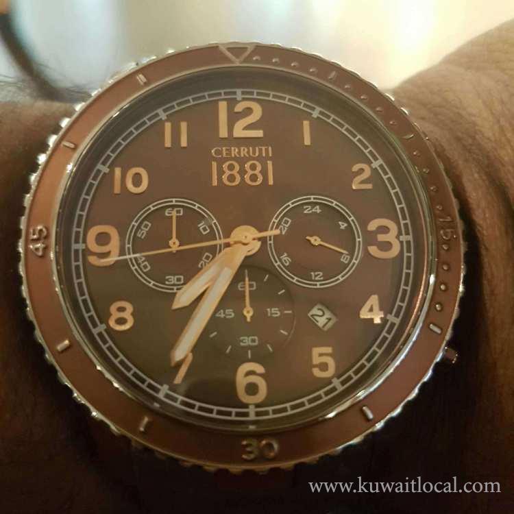 Cerruti-1881-watch-for-sale-kuwait