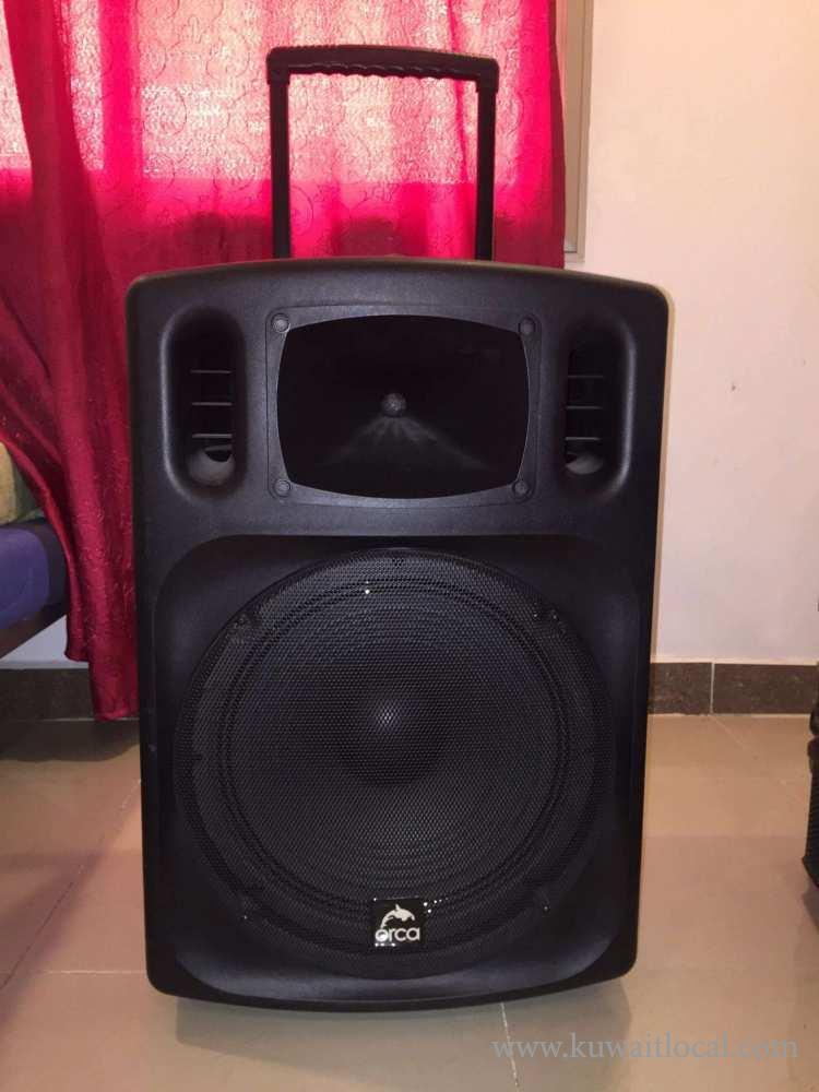 Orca-Professional-Rechargeable-Speaker-System-available-for-sale-kuwait