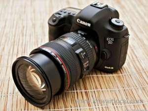 Canon EOS 5D Mark III 22 3MP DSLR Camera  24105 Mm Lens Kit in kuwait