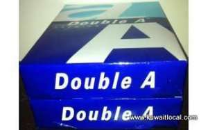 Double AA Copy Paper 80gsm in kuwait