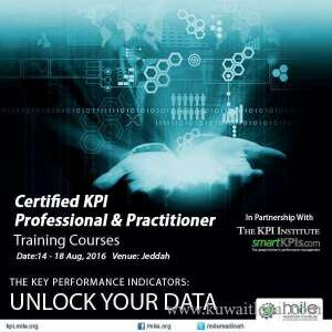 Certified KPI Professional And Practitioner in kuwait