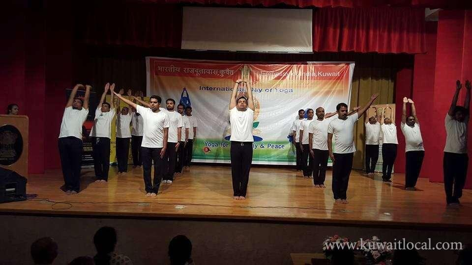 second-international-day-of-yoga-idy-celebrations-moved-to-embassy-premises-kuwait
