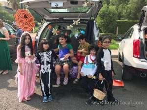 3rd Annual Trunk Or Treat in kuwait