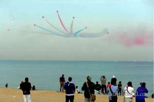 Royal Air Force Show In Kuwait in kuwait