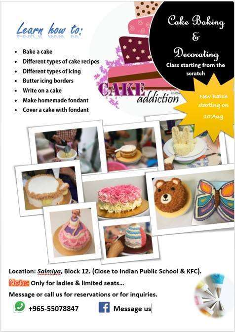 cake-baking-and-decorating-class-kuwait