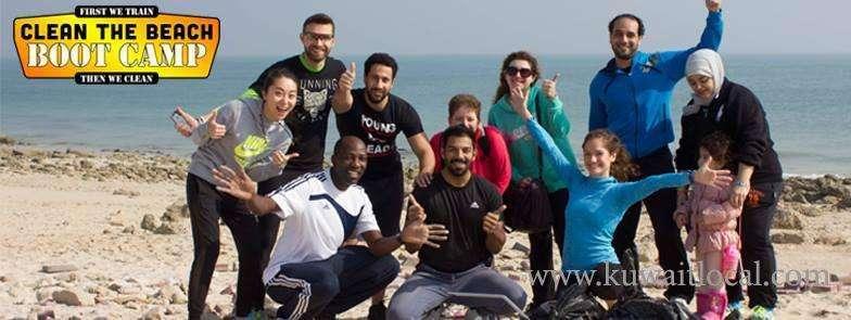 clean-the-beach-boot-camp---salmyia-beach-kuwait