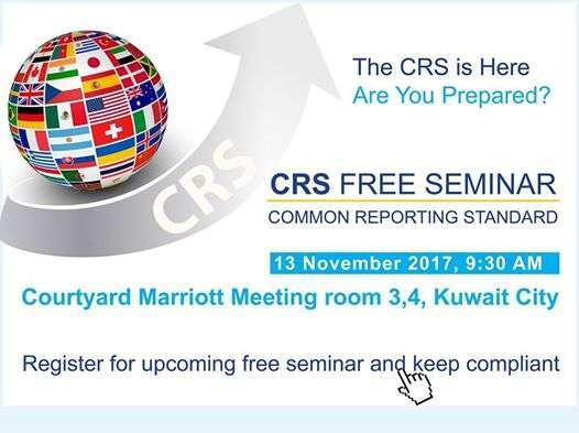 Kuwait Local Common Reporting Standard Crs Free Seminar