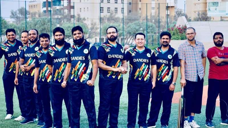 dandies-vs-zahoor-eleven-cricket-kuwait