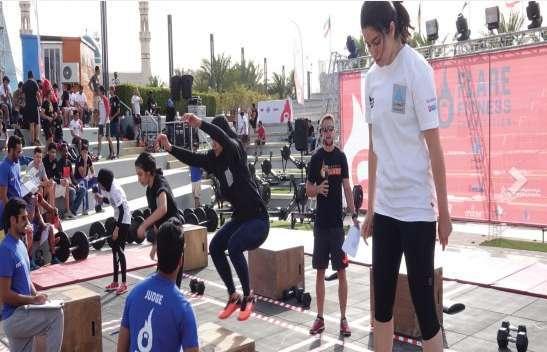 flare-fitness-university-competition-kuwait