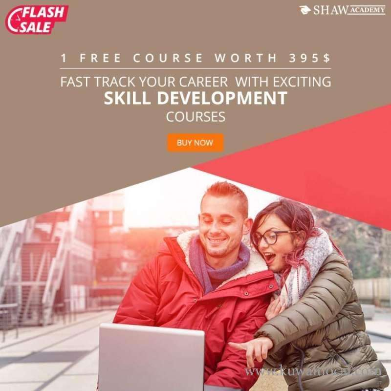 flash-sale-,-fast-track-your-career-with-exciting-skill-development-courses-by-shaw-academy-kuwait