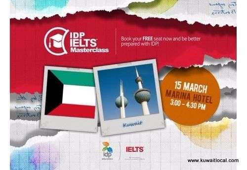 free-ielts-masterclass-at-kuwait-idp-education-roadshow-kuwait
