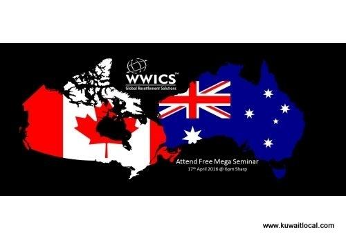 free-mega-seminar---immigrate-canada--and-australia-kuwait