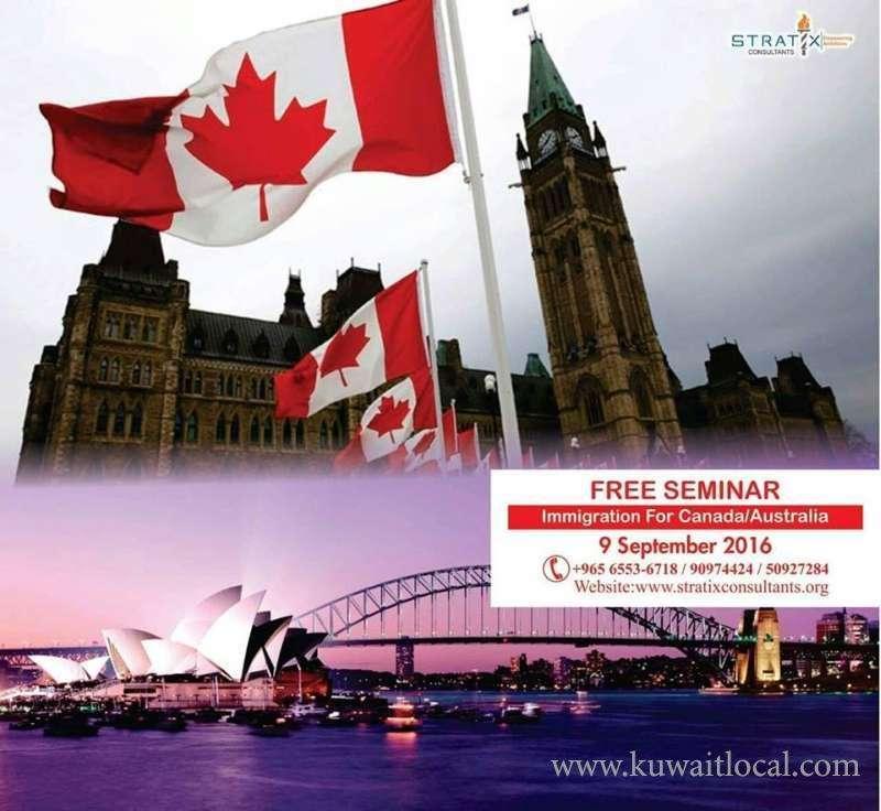 free-walkin-seminar-on-canada-,-express-entry-and-australia-kuwait