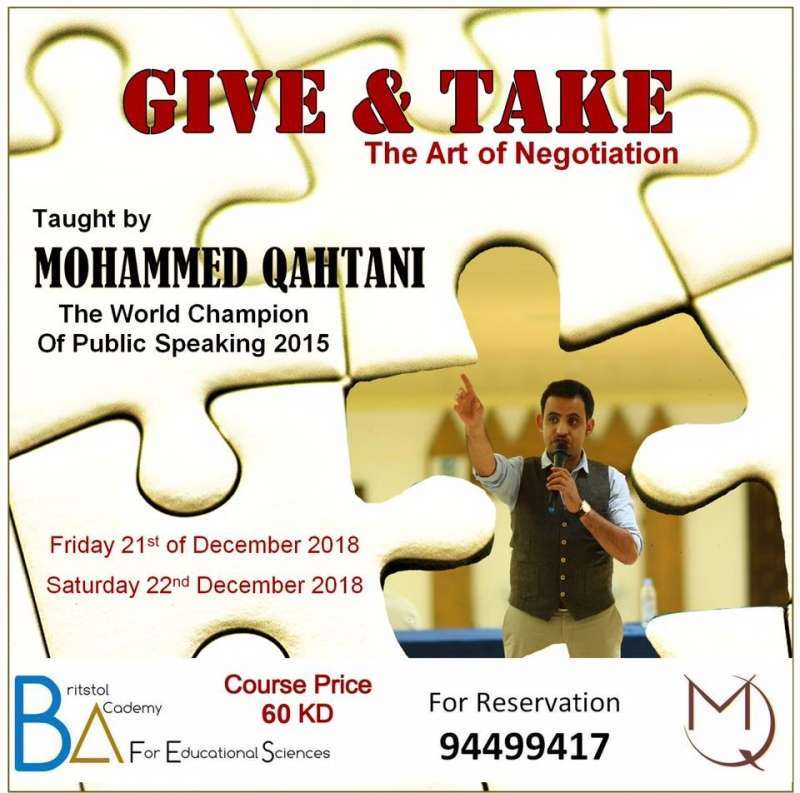 give-and-take-,-negotiation-skills-workshop-kuwait