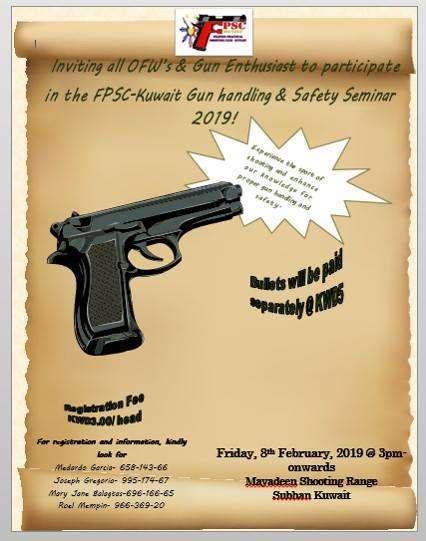 gun-handling-and-safety-seminar-kuwait