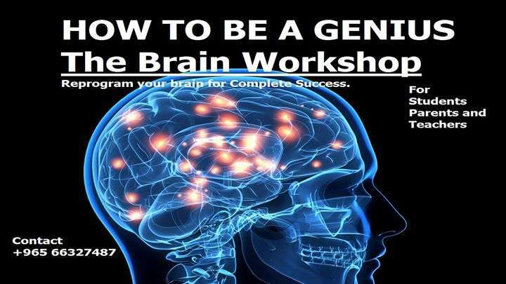 how-to-be-a-genius--the-brain-workshop-kuwait