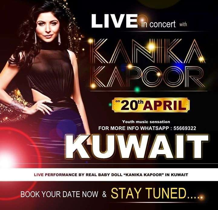 kanika-kapoor-live-in-concert-kuwait