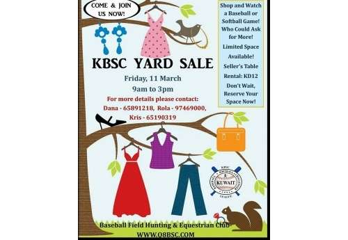kbsc-yard-sale-|-events-in-kuwait-kuwait