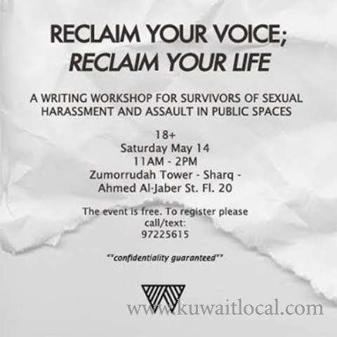 reclaim-your-voice---reclaim-your-life-kuwait