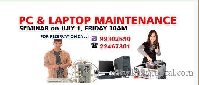 seminar-for-pc-and-laptop-maintenance-kuwait