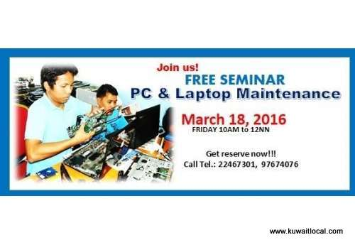 seminar-for-pc-and-laptop-maintenance-course-kuwait