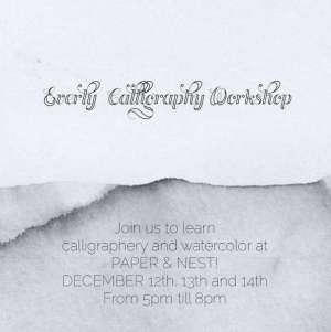 calligraphy-and-watercolor-workshop_kuwait