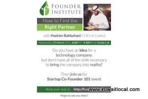 founder-institute-kuwait-chapter-brings-how-to-find-the-right-partner_kuwait