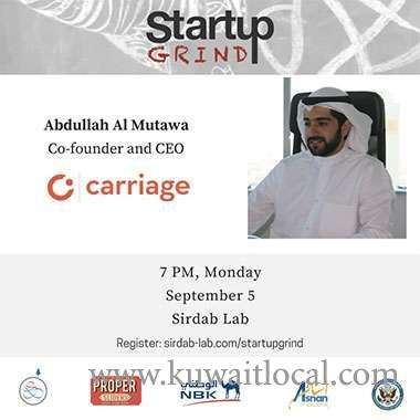 startup-grind-with-abdullah-almutava,-cofounder-and-ceo-of-carriage-kuwait