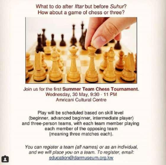 summer-team-chess-tournament-kuwait