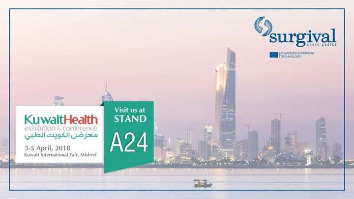 surgival-at-kuwait-health-2018-kuwait